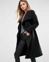 Only Wrap Coat Black