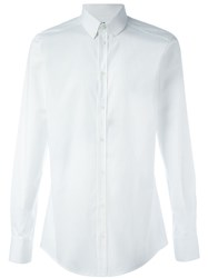 Dolce And Gabbana Classic Button Down Shirt White
