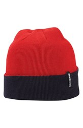 Men's Converse Reversible Knit Cap Red Converse Red