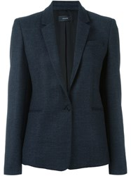 Joseph Single Button Blazer Blue