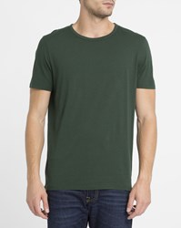 American Vintage Green Fredonia Dry Jersey Round Neck T Shirt