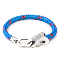 Anchor And Crew Stornoway Rope And Silver Bracelet