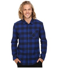 Quiksilver Motherfly Flannel Navy Blazer Men's Clothing