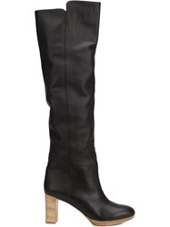 Maiyet 'Reese' Knee High Boots Black