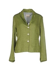 Niu' Suits And Jackets Blazers Women Light Green