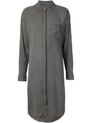Nsf 'Rhodes' Shirt Dress Grey