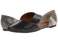 Bc Footwear Up All Night Black Black And White Exotic Women's Flat Shoes