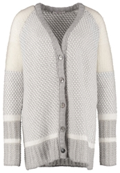 Bloom Fancy Cardigan Offwhite Marble Silver