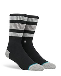 Stance Boyd Striped Crew Socks Black
