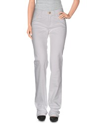 Versace Jeans Couture Trousers Casual Trousers Women White
