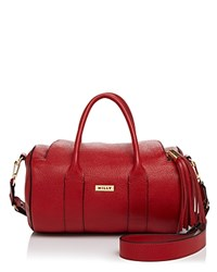 Milly Astor Duffel Satchel Red Gold