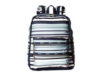 Le Sport Sac Functional Backpack Beach Stripe Backpack Bags Multi