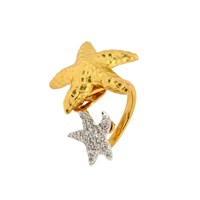 Misis Starfish Ring Gold
