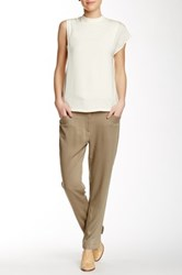 Shades Of Grey Paper Bag Trouser Brown