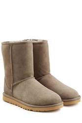 Ugg Australia Classic Short Suede Boots Grey