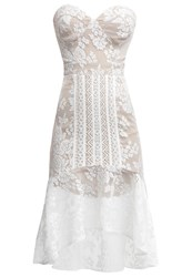 Jarlo Bijou Cocktail Dress Party Dress Ivory Off White