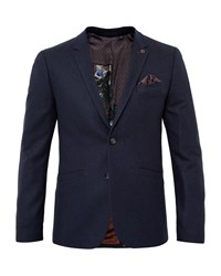 Ted Baker Austin Wool Twill Jacket Navy