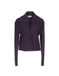 Escada Sport Blazers Purple