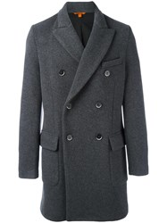 Barena Double Breasted Coat Grey