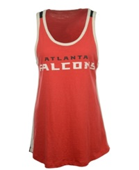G3 Sports Women's Atlanta Falcons Home Game Tank Top Black Red