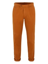 Gibson Straight Leg Cotton Chinos Yellow