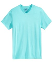 American Rag Men's Raw Edge T Shirt Only At Macy's Turquoise