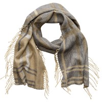 Phase Eight Elly Colour Block Scarf Camel