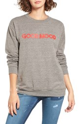 Sub Urban Riot Women's Good Mood Graphic Sweatshirt
