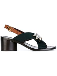 Marc Jacobs 'Madison' Sandals Green