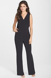 Women's Kut From The Kloth Surplice Woven Jumpsuit