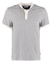 Kiomi Polo Shirt Mottled Grey