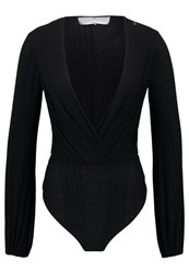 Elisabetta Franchi Long Sleeved Top Nero Black