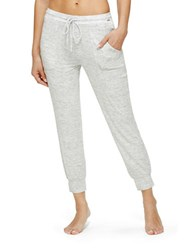 Kensie Keeper Jogger Sleep Pants Grey Heather