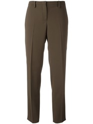N 21 No21 Tailored Trousers Green