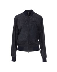 M.Grifoni Denim Coats And Jackets Jackets Women Dark Blue