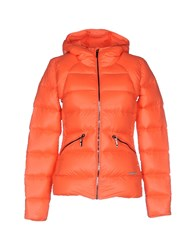 Porsche Design Sport By Adidas Coats And Jackets Down Jackets Women Coral