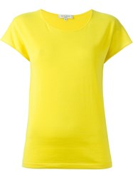 Etro Round Neck T Shirt Yellow And Orange
