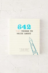 642 Tiny Things To Write About Diary By San Francisco Writers' Grotto Assorted