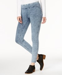 Tommy Hilfiger Pull On Blue Haze Wash Skinny Jeans Only At Macy's