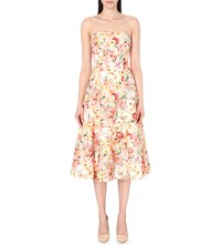 Ted Baker Senona Floral Applique And Lace Dress Cream