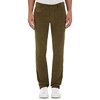 Incotex Men's Corduroy Trousers Green