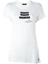 Diesel 'Whatever Forever And Ever' T Shirt White