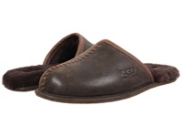 Ugg Scuff Deco Stout Leather Men's Slippers Black