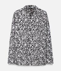 Christopher Kane Decay Print Jacket Shirt Black