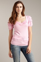 D.E.P.T Belted Knit Top