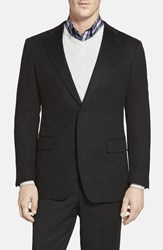 Cardinal Of Canada Men's Big And Tall Classic Fit Cashmere Blazer Black