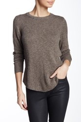Nic Zoe Long Sleeve Crew Neck Sweater Petite Green