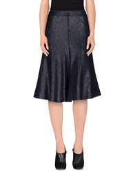 Laviniaturra Skirts 3 4 Length Skirts Women Dark Blue