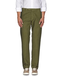 Alain Trousers Casual Trousers Men Green