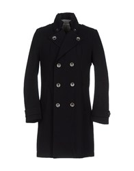 Blu Byblos Coats And Jackets Coats Men Black